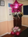 Large Foil Printed Balloon display £25