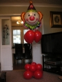 Floor Standing Clown