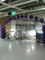 Ikea with large foil arch,