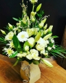 Thank you flowers from £15 with any wedding package booked with us